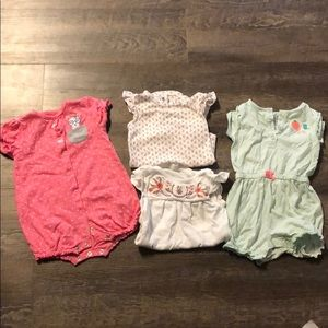 4 Carters outfits for 18month baby girl